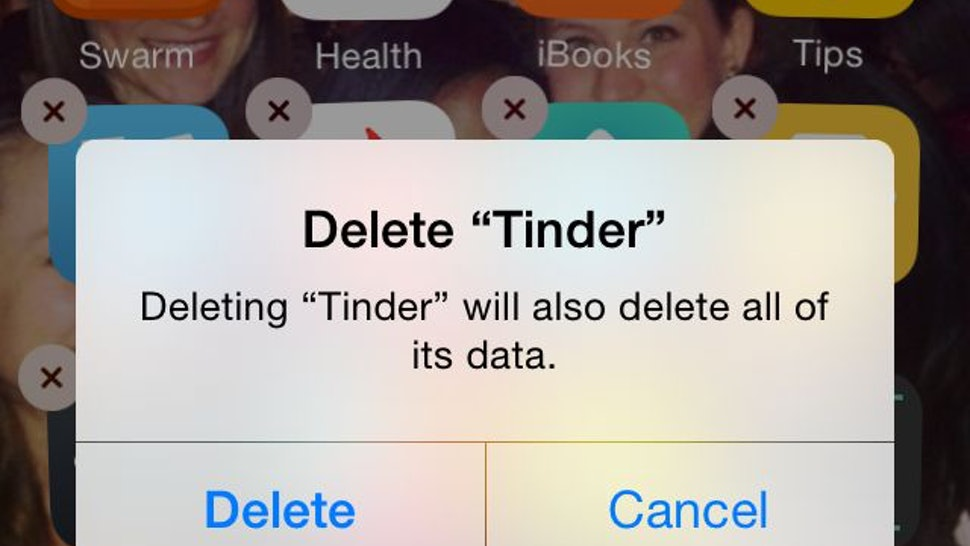 date hookup how to delete