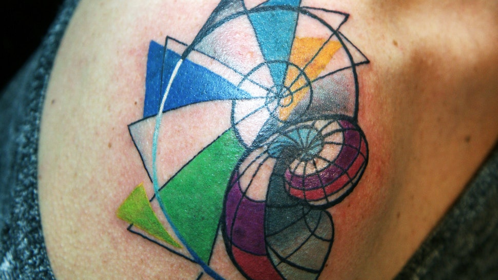 7194bd5b8b6b3 15 Incredible Geometric Tattoos To Inspire You To Adorn Your Epidermis With  Ink This Summer
