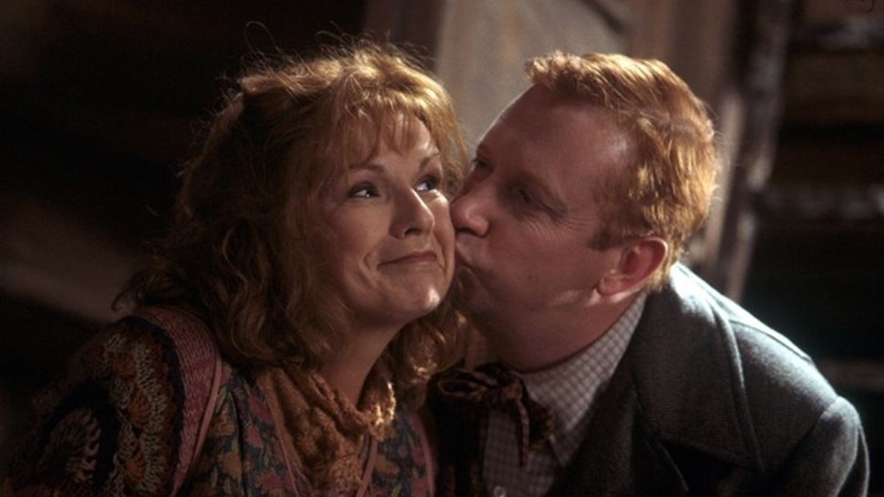 Image result for molly and arthur weasley gif