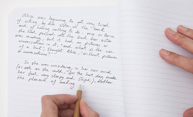how to write with your left hand in one day