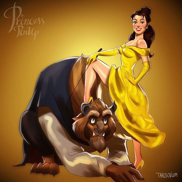 Disney princesses overly sexualized