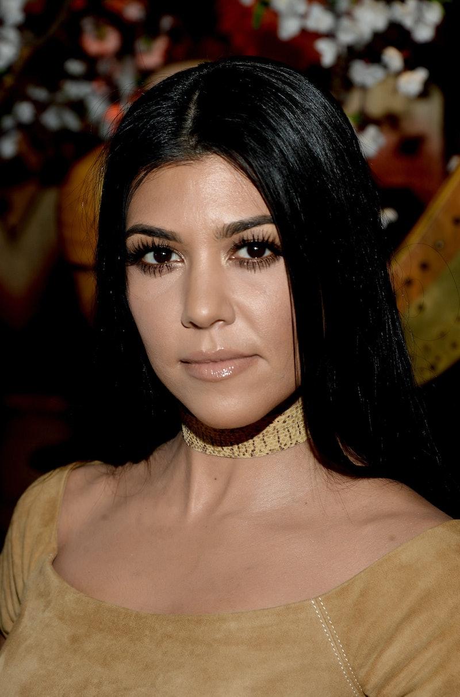 These Photos From Kourtney Kardashians 40th Birthday
