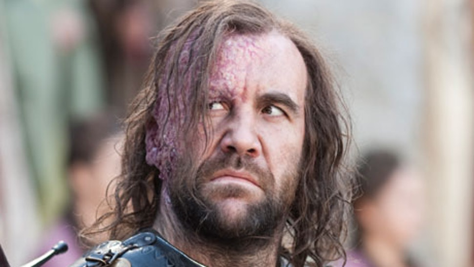 The Hound's 'Game of Thrones' Burn Makeup Has Really Changed Over 4 Seasons— PHOTO