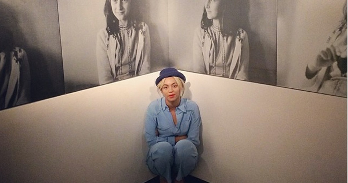 Beyonce's Photos From Anne Frank Home Are Gross & Insensitive