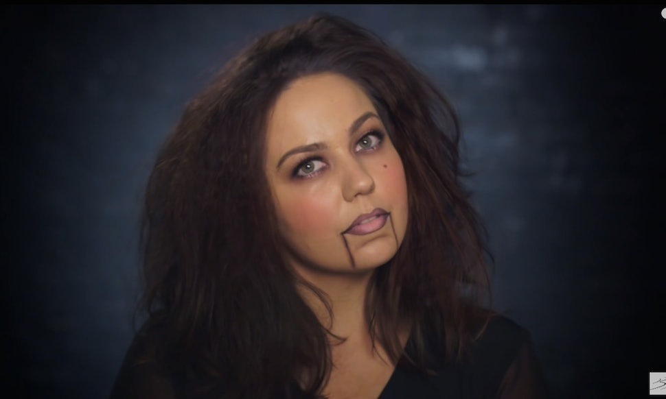 8 quick easy halloween makeup tutorials for you lazy girls out there videos