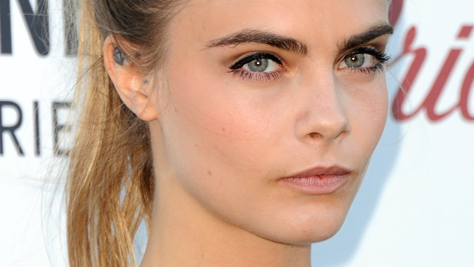 So Eyebrow Implants Are A Thing Now If You Want Cara Delevingne Like