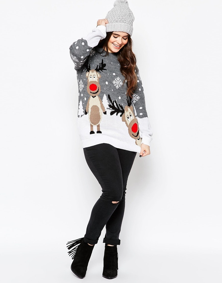 5 Ways To Style An Ugly Christmas Sweater All Winter Long