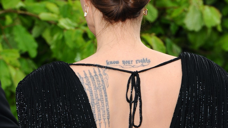 0445879569837 These Tattoos Fonts Are Best For Wordy Ink That Looks Amazing — PHOTOS
