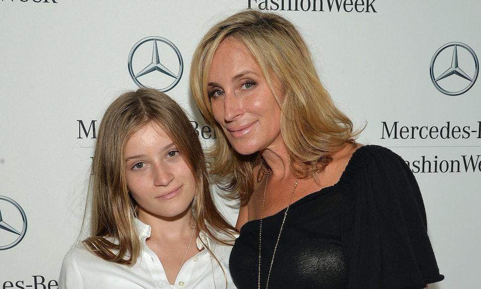 Sonja Morgan S Daughter Quincy Adams Morgan Is Following