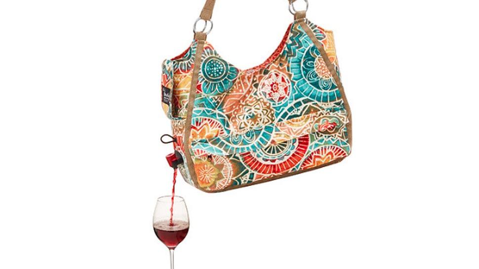 This Wine Dispensing Handbag Will Let