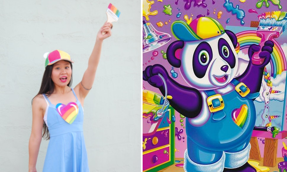 A Lisa Frank Halloween Costume Idea For 90s Girls In Need Of Last Minute Outfit