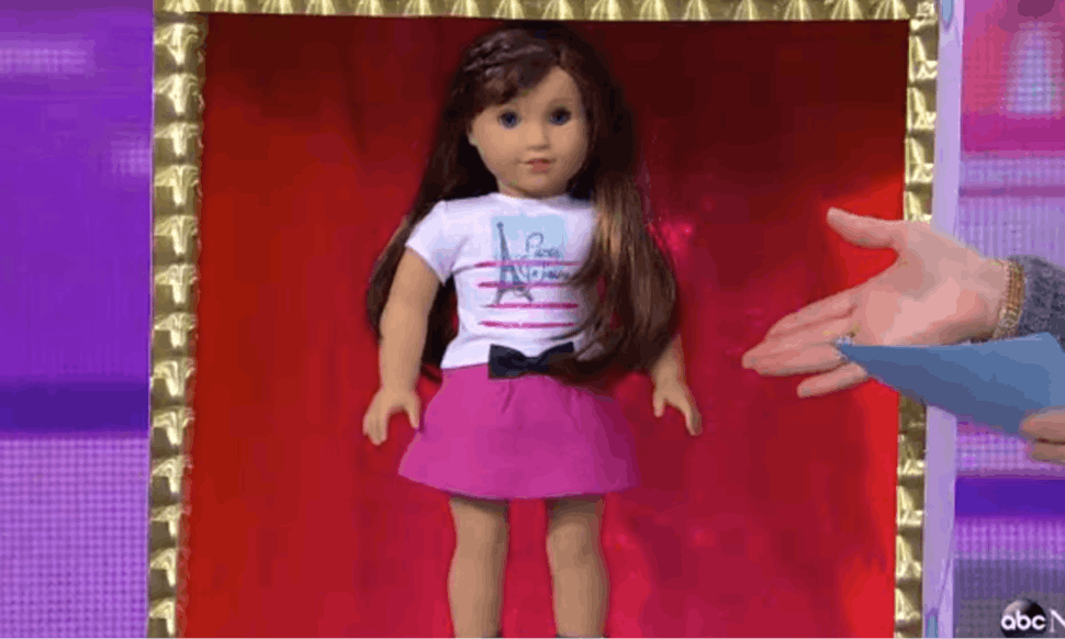 american girl s 2015 doll of the year is grace thomas a baker and