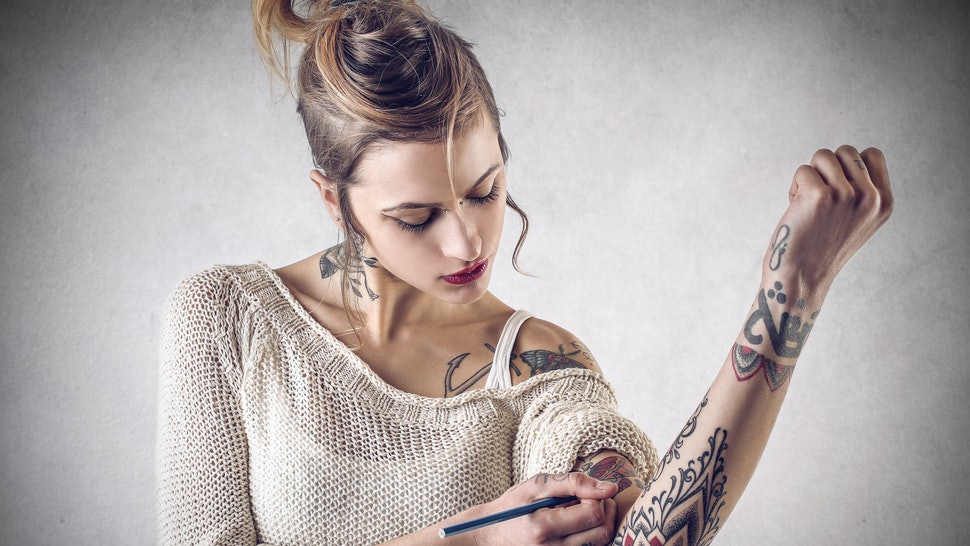 fbe16790f How To Pick A Full Tattoo Sleeve Theme, Because It's The Best Part About  Getting Inked