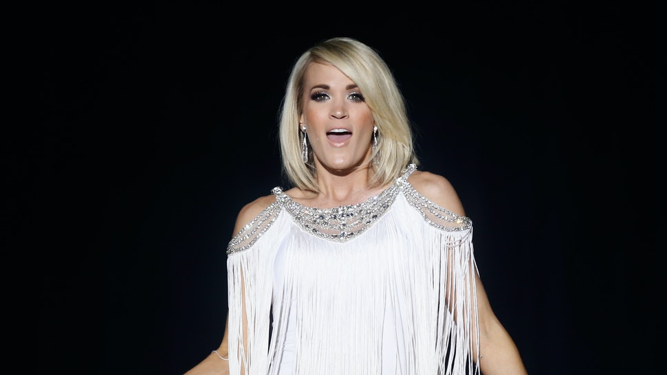 2f7a319117f74 How Much Is Carrie Underwood's Swimwear Line? It Won't Break The Bank —  PHOTOS