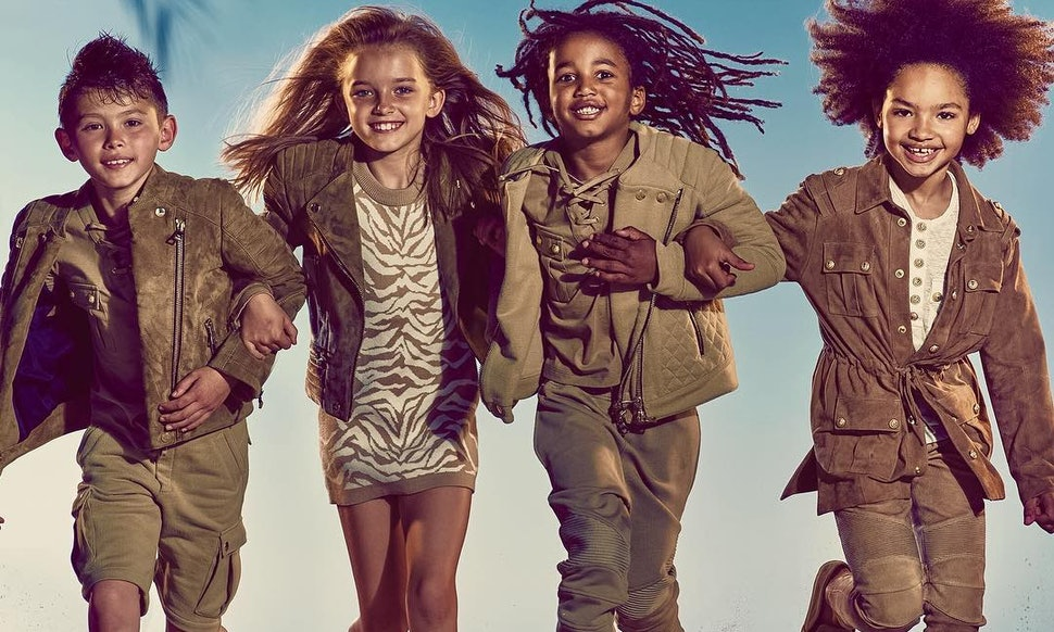 What's In The Balmain Kids Line? These Pieces Are ...