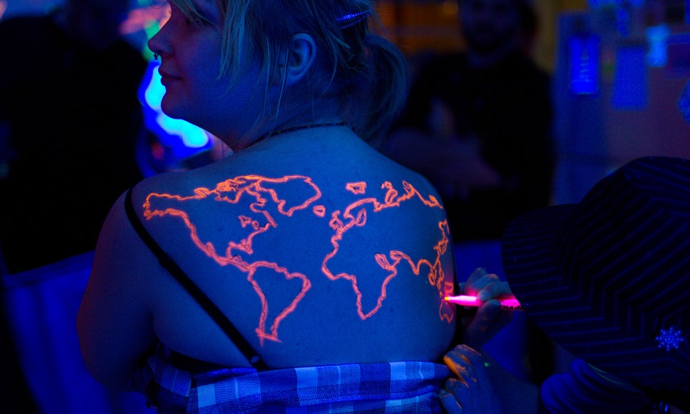 What Blacklight Tattoo Ink Is Made Of Still Remains A Bit