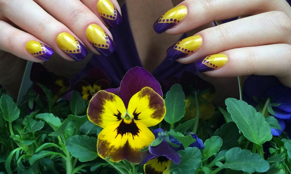 13 Spring Themed Manicures For Your Next Nail Art Inspiration Photos
