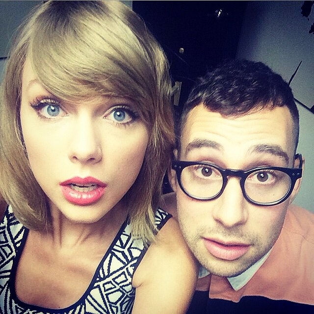Image result for taylor swift and jack antonoff