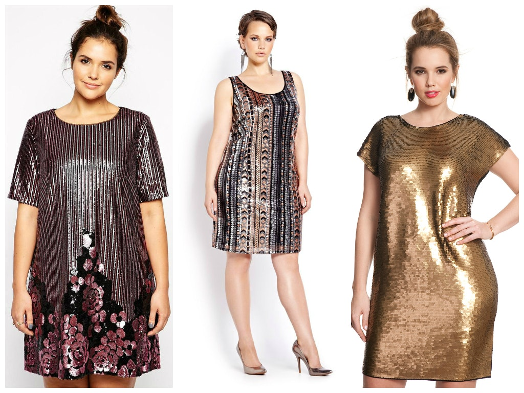 New Year's Plus Size Party Dresses