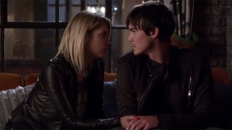 Is spencer and caleb dating on pll did bryon