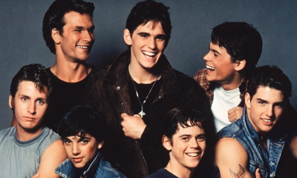 the outsiders turns 32 so let s celebrate the best looking movie