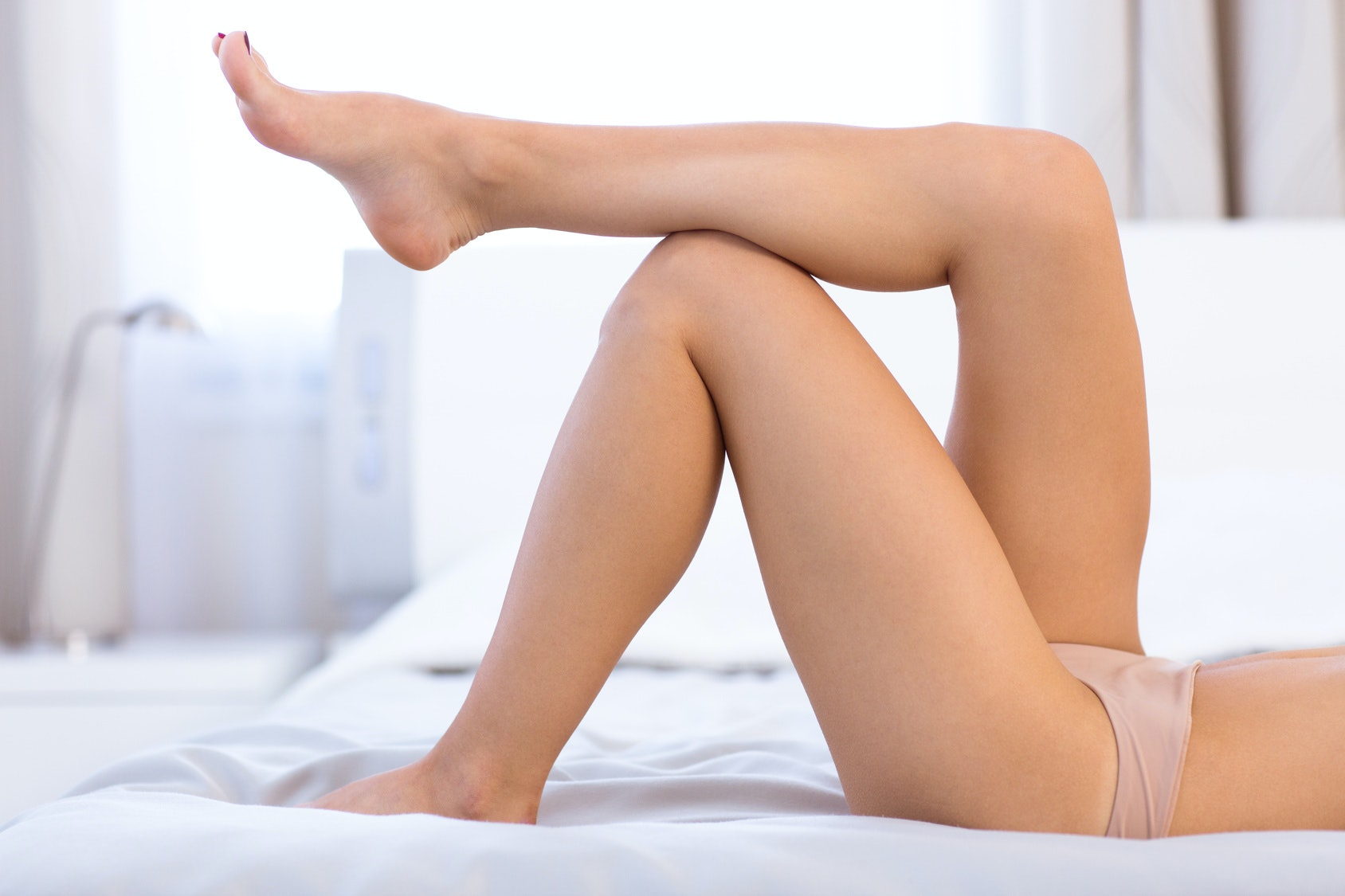 Girl Hand Down Panties