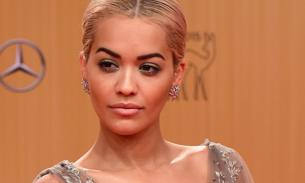 Rita Ora Stuns Bambi Awards In A Sparkling Ombre Gown That Is Out Of ...