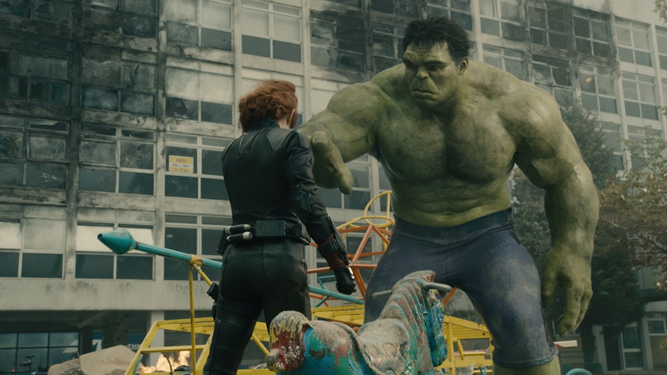 will black widow and hulk be together