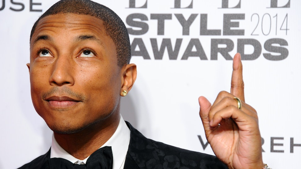 b3d7f89b6d5e8 7 Times Pharrell Williams Was A CFDA Approved Fashion Icon Because He Totes  Deserves This Award