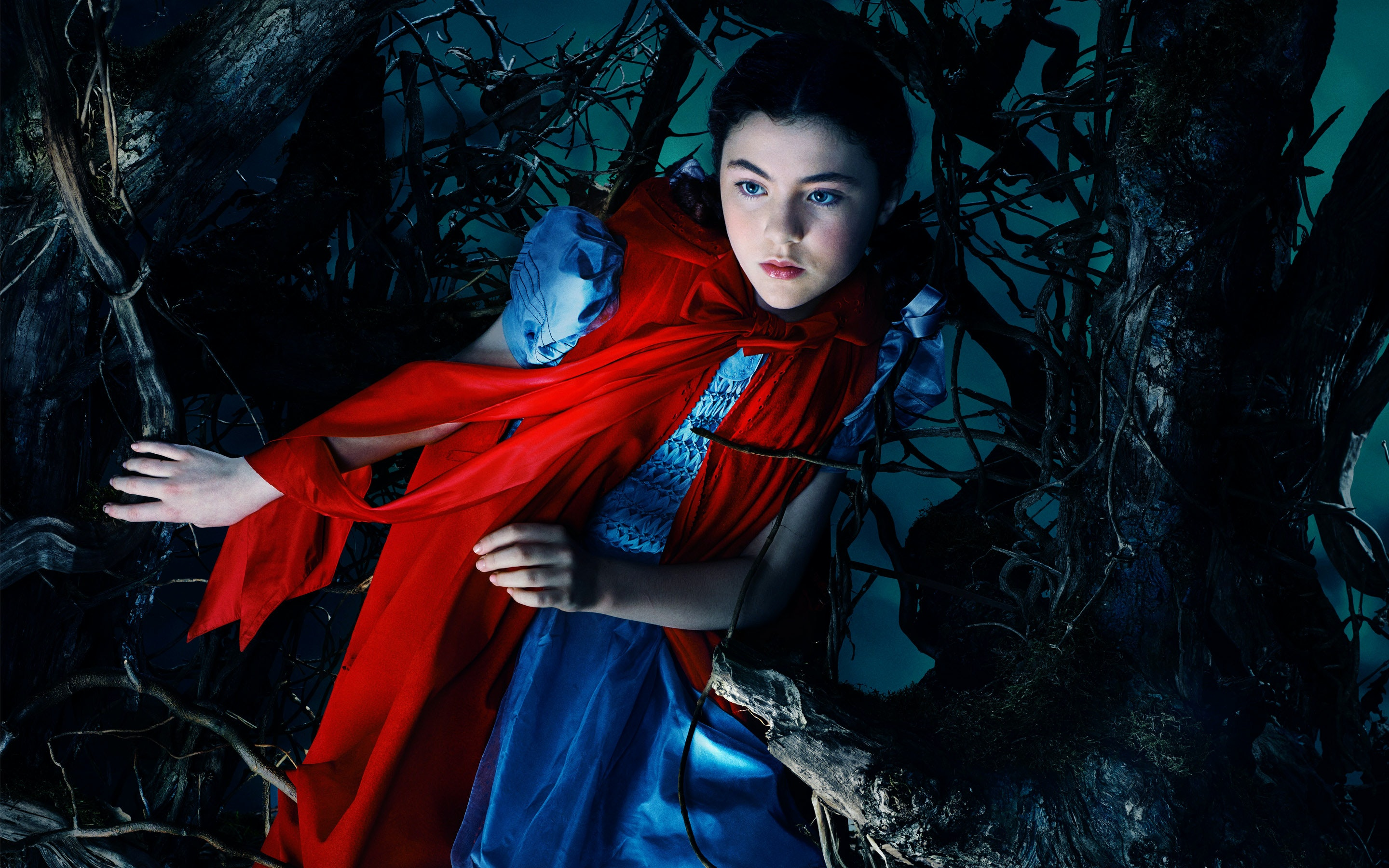 How Does Red Riding Hood Survive Being Eaten By The Wolf In Into