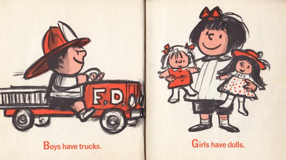 70s Children's Book 'I'm Glad I'm a Boy! I'm Glad I'm a Girl