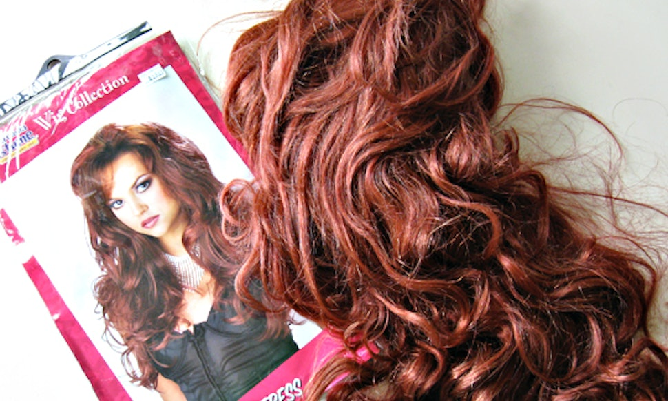 How To Make Your Halloween Wig Look Real Is Easier Than You Think