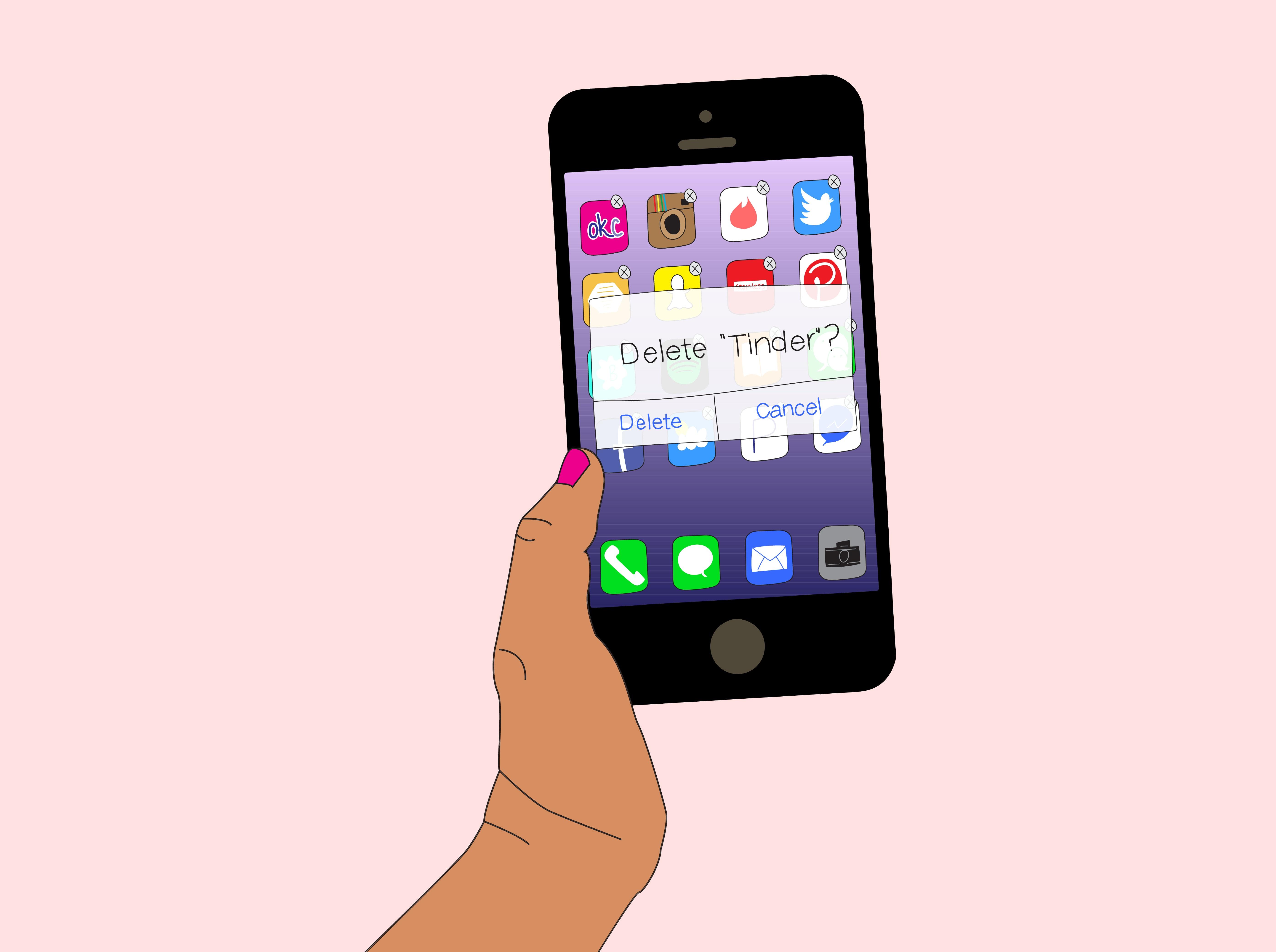 flirt and hook up delete