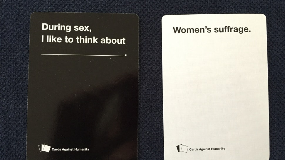 Feminists Play Cards Against Humanity And Let S Just Say The