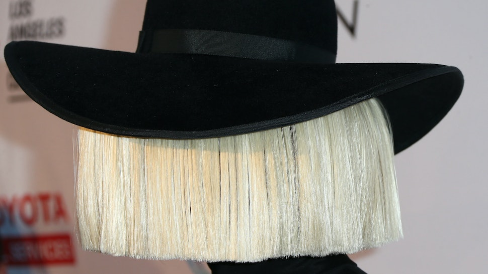 Sia Reveals The Mystery Behind Her Wigs Its For A Deeper Reason
