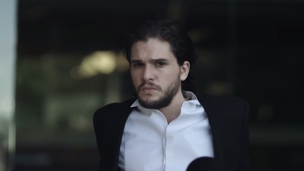 e2a48cb9a563 9 Amazing Kit Harington Hair Moments From His New Jimmy Choo Ad