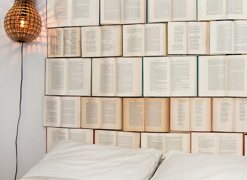 12 Clever Ways To Decorate With Books Since You Have Way Too Many Anyway