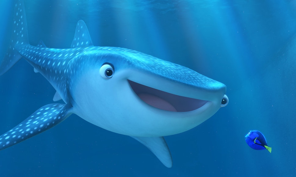 Is destiny from 39 finding dory 39 a whale or a shark the for H m fish count