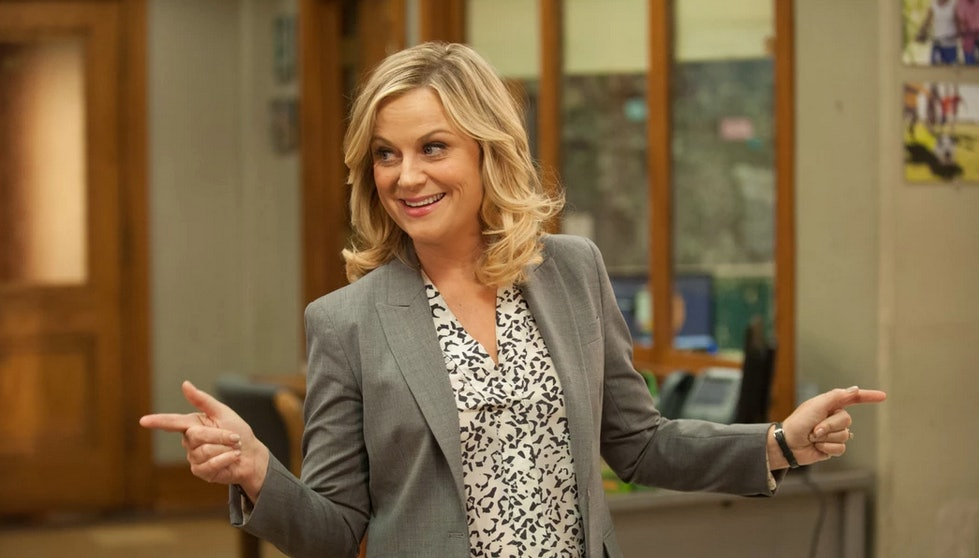u0027Parks u0026 Recu0027 Leslie Knope Halloween Costume You Can Make Yourself Because Pant Suits Are Always In Style. u0027  sc 1 st  Bustle & Parks u0026 Recu0027 Leslie Knope Halloween Costume You Can Make Yourself ...