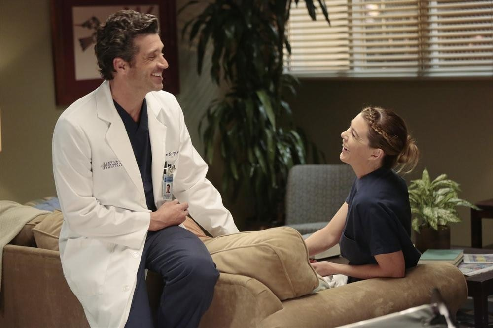 What season do meredith and derek get married