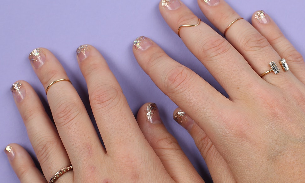 This Glitter Ombre Nail Tutorial Is The Only Manicure You Need For ...
