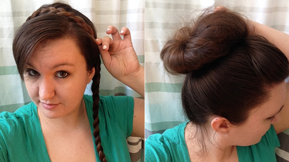 4 Hairstyles For Greasy Hair To Try On Days When Showering Just