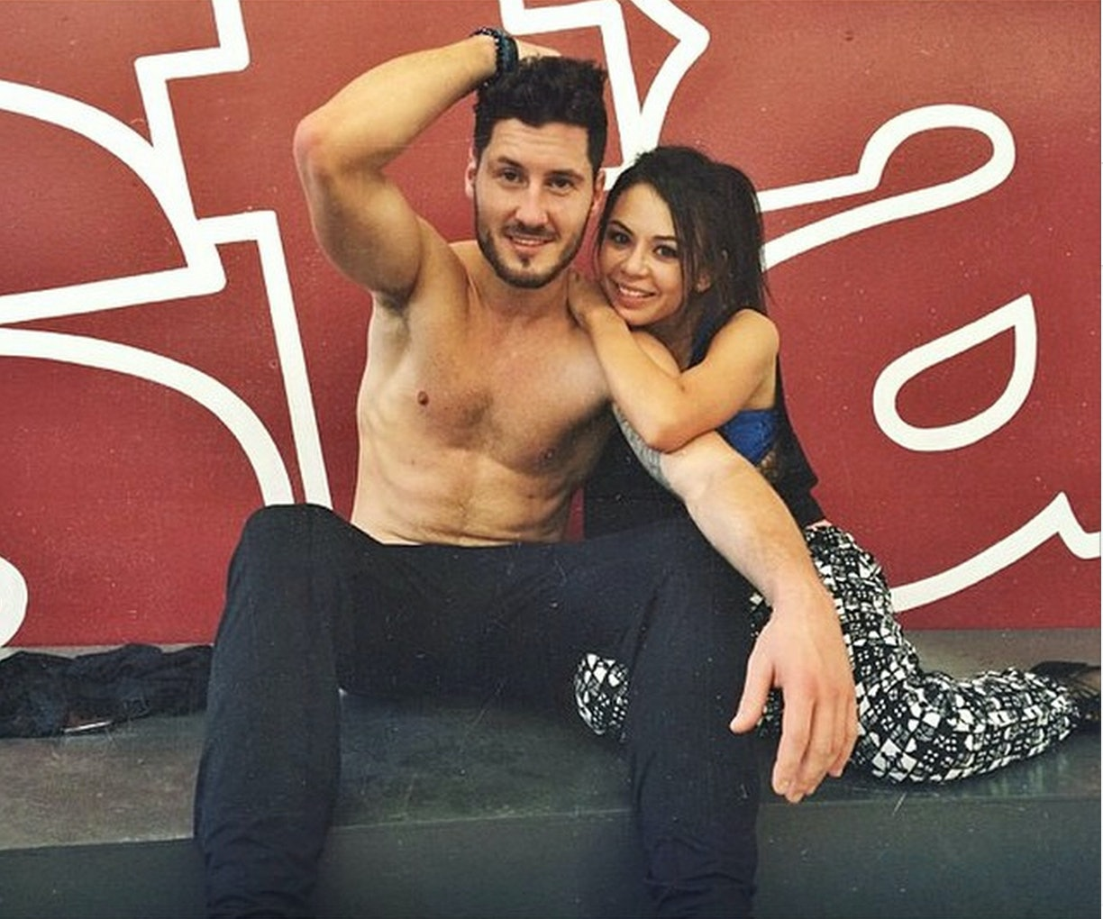 Is val on dwts dating janel