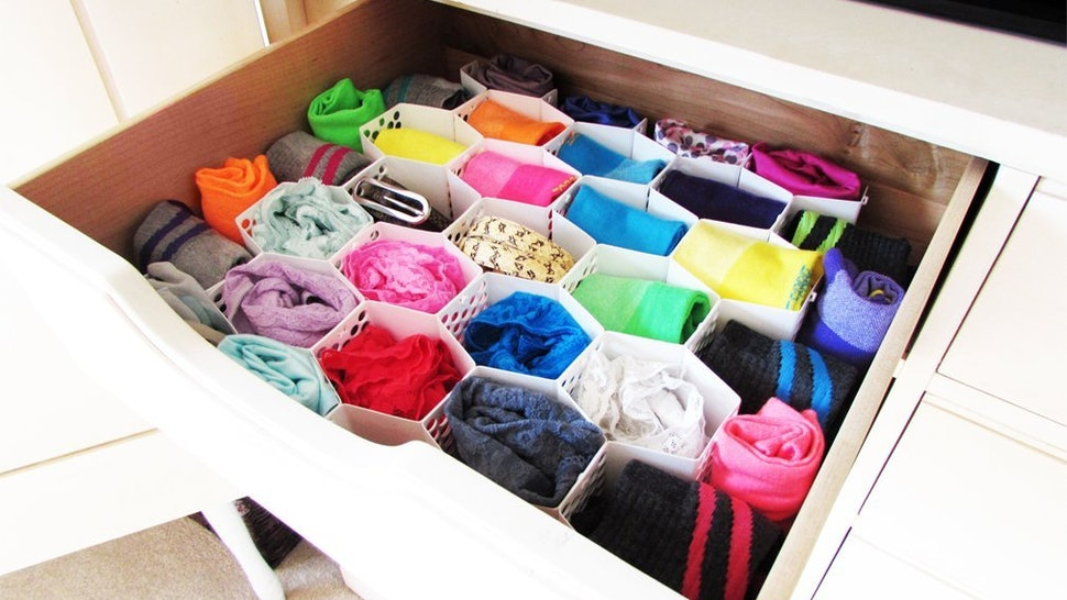 d61ed011849e86 How To Organize Your Bra, Underwear & Sock Drawers With 8 Helpful Items &  Tips