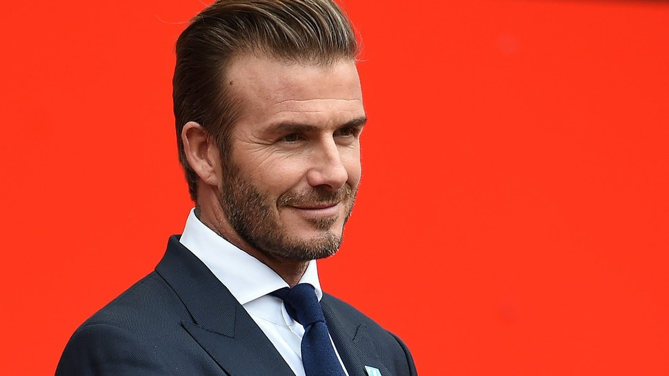 Who Cuts David Beckhams Hair He Has The Spice Girls To Thank In Part