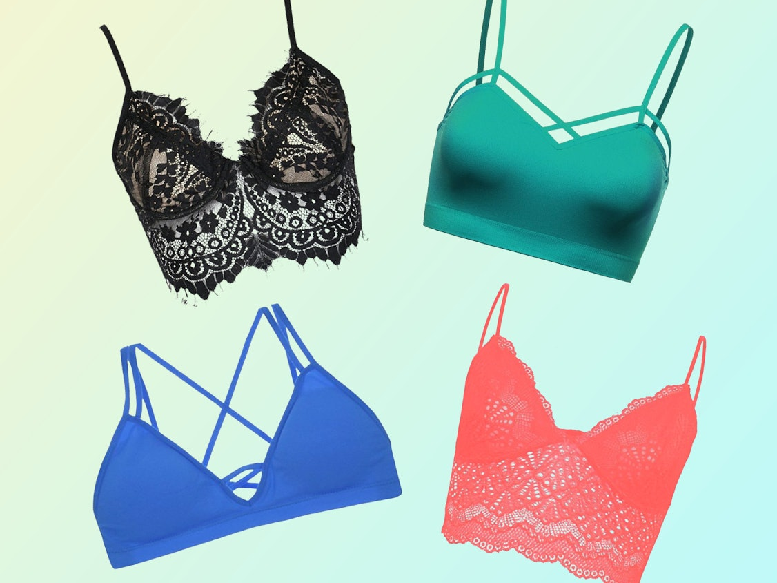 86d1feda34fb7 Best Bralettes To Wear Under Anything