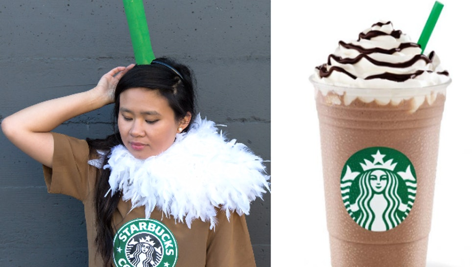 A Starbucks Halloween Costume For People Who Love