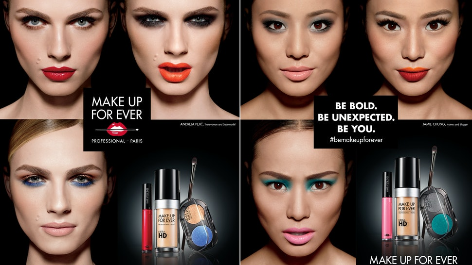 Super Andreja Pejic & Jamie Chung Partner With Make Up For Ever, And @CL53