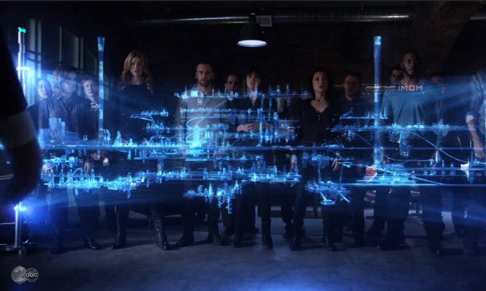 What Does Coulsons Blueprint Show On Agents Of Shield It