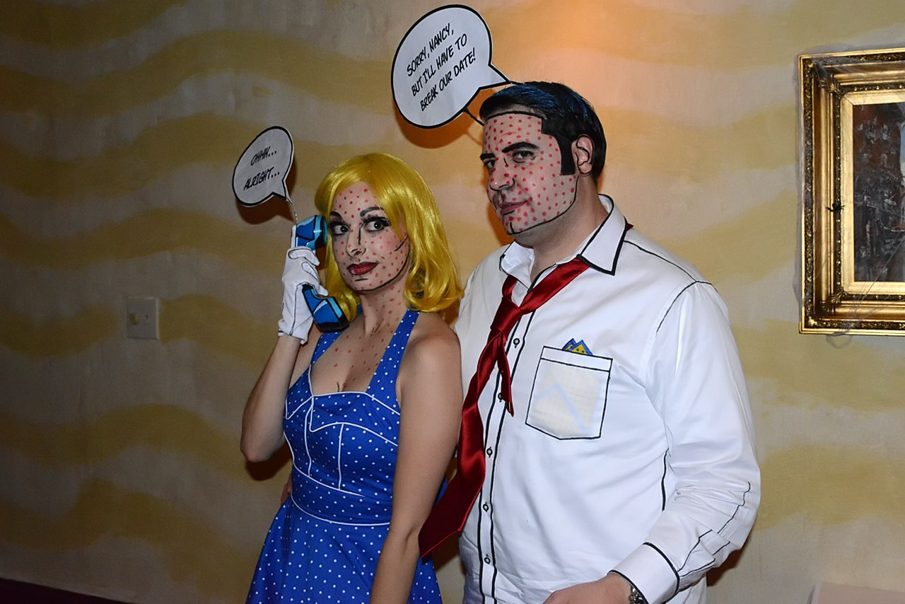 20 Pun Halloween Costumes For Couples That Are Sure To Make You The Life Of The Party  sc 1 st  Bustle & 20 Pun Halloween Costumes For Couples That Are Sure To Make You The ...